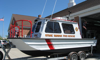 Apparatus of Stone Harbor Vol  Fire Co  No 1